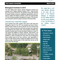 Tahltan Fisheries - March 2015