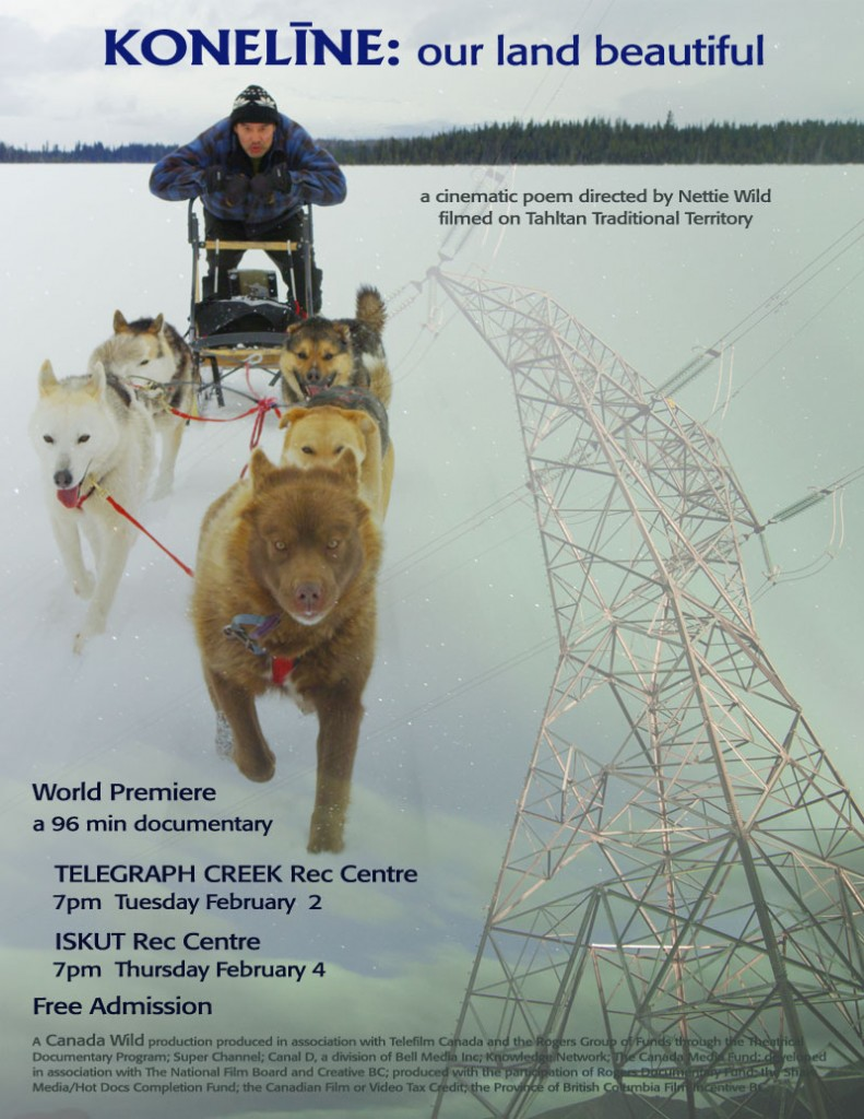 World Premier of Movie Shot in Tahltan Territory