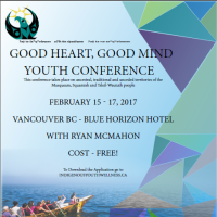 Good Heart, Good Mind Youth Conference- Vancouver