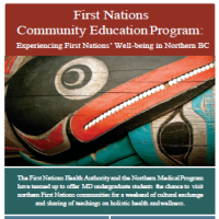 First Nations Community Education Program: Experiencing First Nations' Well-being in Northern BC
