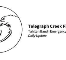 Telegraph Creek Fires - Daily Update photo
