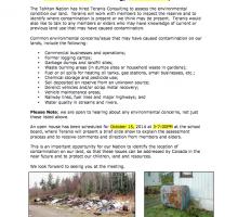 Dease Lake Community Notice