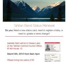 Status Renewal Poster